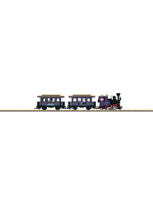 christmas train set (blue)