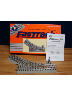 lionel 12018 fastrack right hand manual switch