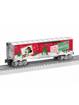 lionel 1928670 mickey's wish list boxcar