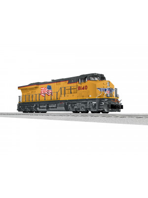 lionel 1933323 up es44ac #8140 non pwrd