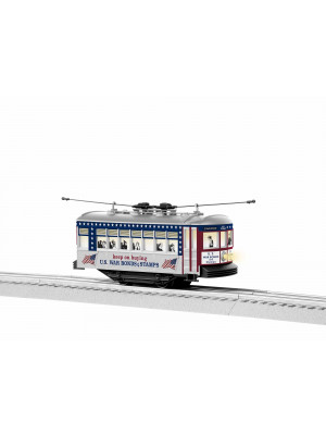 lionel 1935090 us war bonds trolley