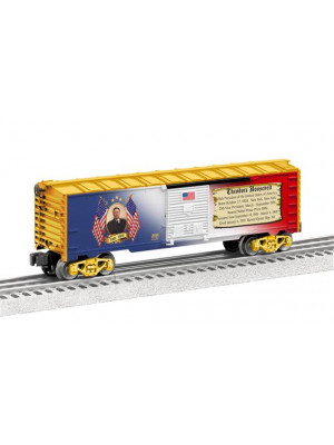 lionel 39339 theodore roosevelt boxcar