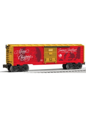 lionel 6-81316 personalized message boxcar