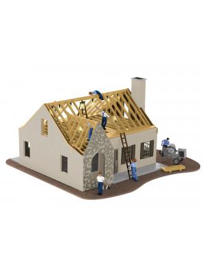 lionel 84792 house under construction