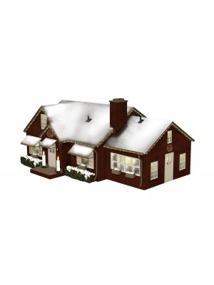 lionel 84795 deluxe christmas house