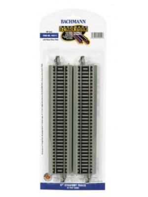 "bachmann 44511 9"" straight ez track 4 pack"