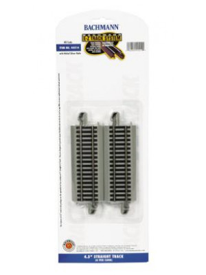 "bachmann 44514 4-1/2"" straight ez track 4 pack"