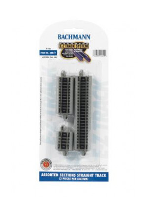 bachmann 44829 straight ez track assortment