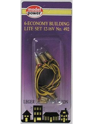model pwr 492 building lights 6pk