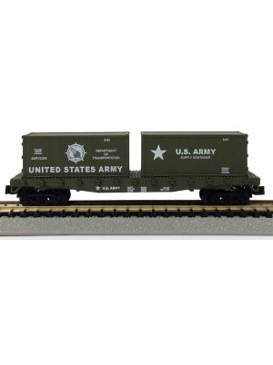 model power 84055 us army flat w/containers