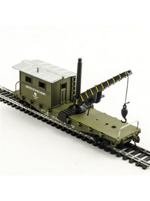 model power 98195 us army work caboose/crane
