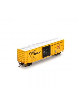 roundhouse 29368 railbox 50' boxcar