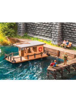 noch 14224 houseboat laser cut kit ho