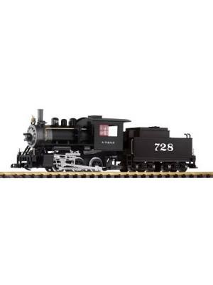 piko 38204 santa fe 0-6-0 loco & tender