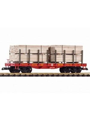 piko 38740 santa fe flat w/lumber load