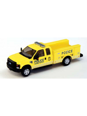river point 5385221p9 police ylw/gry ford truck