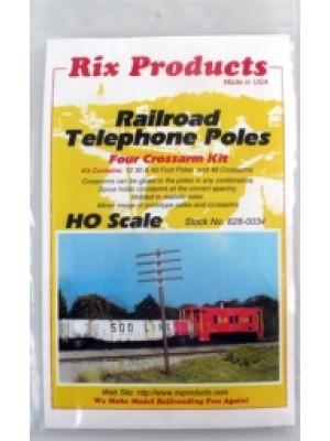 rix 0034 telephone poles