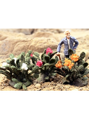 scenic express ca0331 blooming prickly cacti 3pk