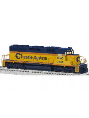 CHESSIE SYSTEM LEGACY SCALE SD40 DIESEL #7500