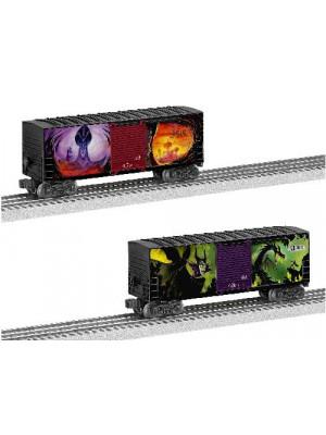 lionel 82718 disney villans boxcar 2pk