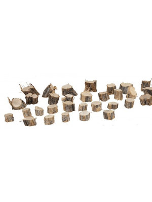 "timberline 30ts wood tree stumps 1/2x3/4"""