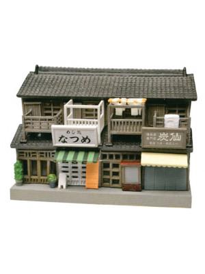 tomytec 243663 corner rowhouse w/shops