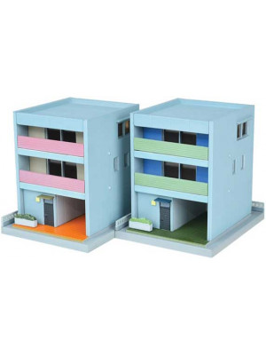tomytec 285953 contempory town houses 2pk