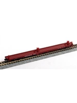 trainworx 2852502 atsf 85' flat car #89785