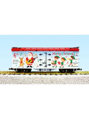 usa trains 13037s 2019 xmas reefer w/snd /lights