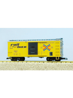 usa trains 19070 railbox boxcar