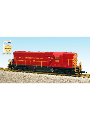 usa trains 22131 us army gp-7 red
