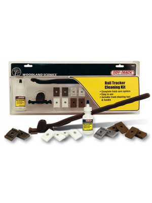 woodland scenics 4550 rail track cleaning kit