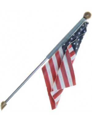 woodland scenics 5955 wall mounted flag large
