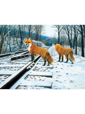 tev 48810 fox tracks puzzle