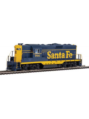 walthers 20451 atsf gp9 hi hood dcc&sound 704