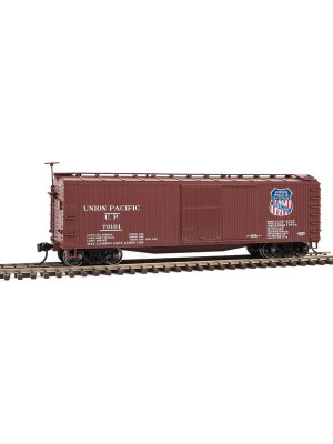 walthers mainline 40169 up 40' wood boxcar