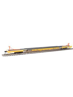 walthers 104206 kttx flush deck 89' flatcar