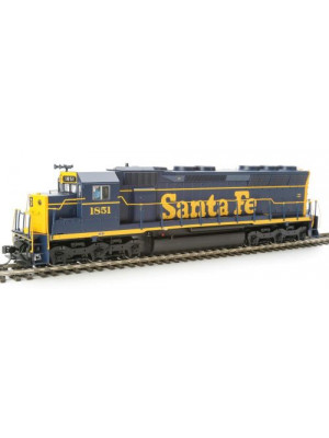 walthers 920-41068 atsf sd45 w/dcc & sound #1851