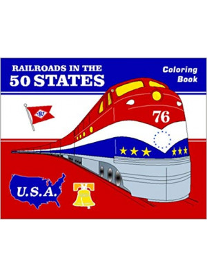 white river r50s rrs in 50 states coloring book