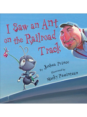 i saw an ant on the track