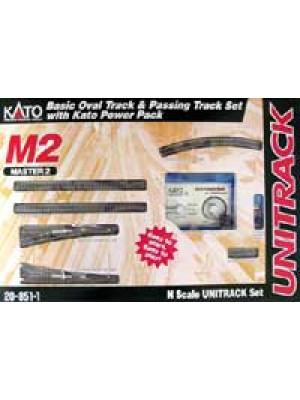 kato 20-851-1 m2 basic oval with siding