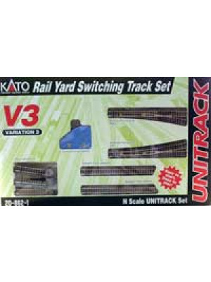 kato 20-862-1 v3 rail yard switch set