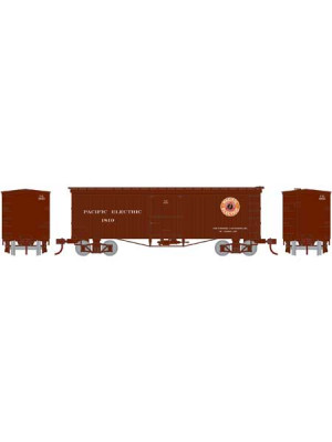 roundhouse  15637 pe 36' wood boxcar