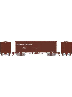 roundhouse 15639 v&t 36' wood boxcar