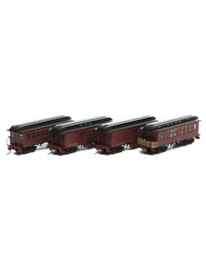 roundhouse 84317 cpr 34' old time pass set 4pk