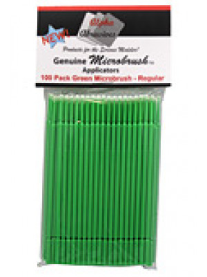 alpha abrasives 1352 microbrushes regular 100pk