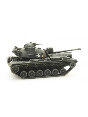artitec 6160053 us m48 a2 army tank train load