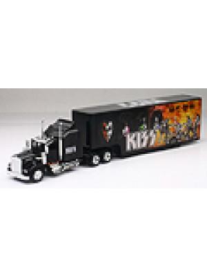 b2b new-ray 15473 kenworth truck/kiss trailer