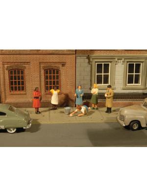bachmann 33167 sidewalk people 7pk