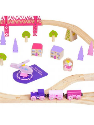 bigjigs bjt23 fairy town train set